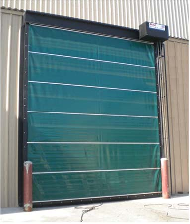 High Speed Vertical Lift Door & Know Your Wind Load for Commercial and Industrial Doors