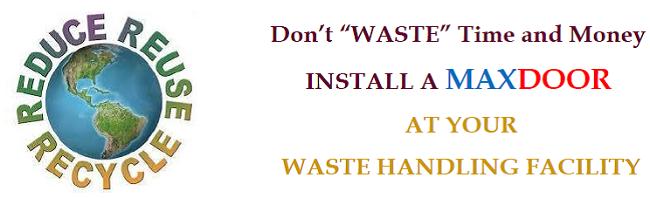 Best Industrial Door for Waste Handling Facilities