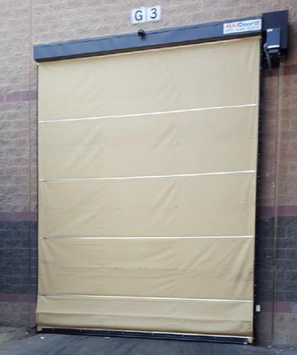 MAXDoor Model WD Warehouse & Maintenance Shop Industrial Door